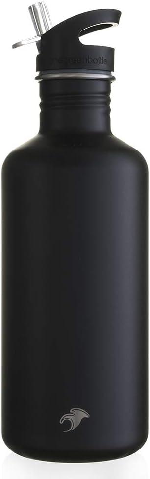 One Green Bottle Botella de Agua ecol/ógica de Acero Inoxidable de 1200 ml Botella de Agua sostenible para Gimnasio Yoga