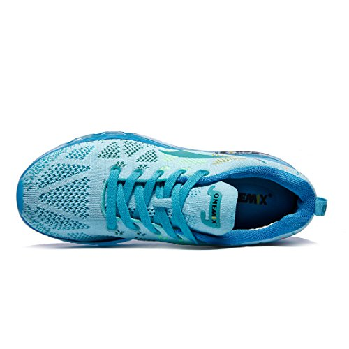 Air Competition Casual Shoes Blue Light Cushion Onemix Running Wmns Training Women's Sneaker Mesh Fitness da0wxqZ8