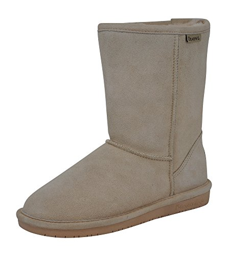 BEARPAW Women's Emma Short Boot, 608W, Camel, 9 M US ()