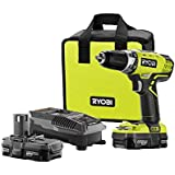 Ryobi P1811 18-Volt ONE+ Lithium-Ion Compact Drill/Driver Kit ZRP1811 (Battery and Charger Included)