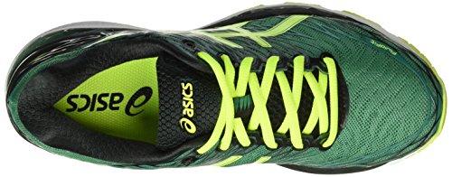 Asics Gel Nimbus 18 - Zapatillas de Running, Unisex Verde (Pine/Flash Yellow/Black)