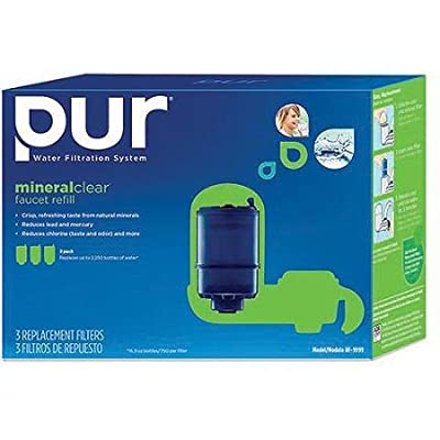 PUR Faucet Mount Replacement Water Filter - MineralClear 3 Pack RF-9999-3