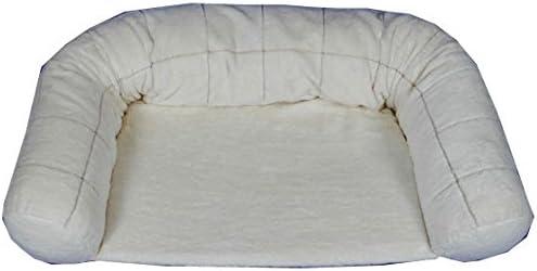 オーガニックコットン 犬 猫のベッド ウィンドペン柄 介護用スクエア型 Sサイズ appydog