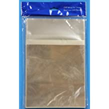 OPP Resealable Bags for 14mm Standard DVD Cases 1000 Pack