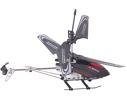 Super Buy 3-Channel iPhone/iPod Touch/iPad Series Remote Control Helicopter Black New