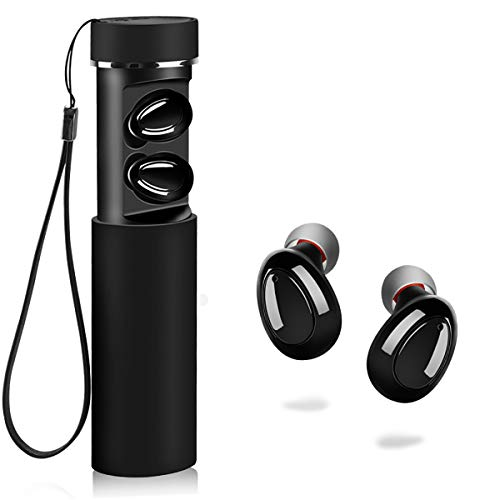 Wireless Bluetooth Headphones,Wireless Bluetooth Earbuds, MANCASSY X18 Latest Bluetooth 5.0 True Wireless Bluetooth Earbuds 3D Stereo Sound Wireless Headphones, Built-in Microphone