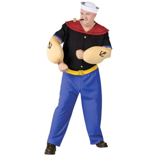Popeye Adult Costume - Plus Size