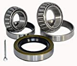 K3-100 Trailer Wheel Bearing Kit 25580/20 15123/15245 10-36 for 5,200 - 7,000 lb axles