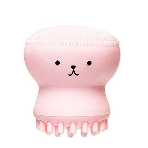 Hot Sale!UMFun My Beauty Tool Exfoliating Jellyfish Silicon Brush/Pore Brush]()