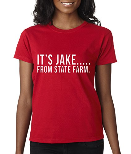 new-way-484-womens-t-shirt-its-jake-from-state-farm-commercial-ad-xl-red