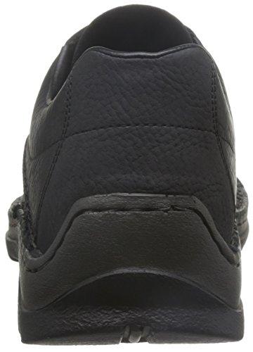 Rieker Mens M.low Chaussures Noir Extra Large Schwarz