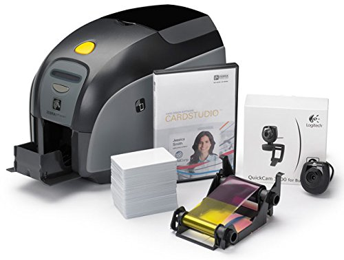 Zebra ZXP Series 3 QuikCard ID Solution Dual-Sided with Magnetic Stripe Encoding by Zebra Technologies