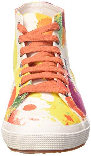 Sneaker orang Superga Spottedwht fabricfanplu 2095 ylw Adulto Unisex qfpBOxf
