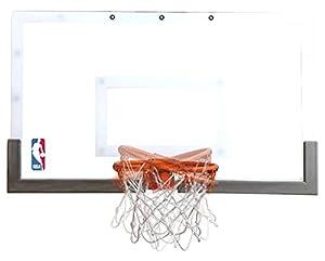 Amazon.com : Spalding NBA 180 Breakaway Over-The-Door Mini ...
