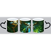 Personalized Custom Photo and Picture Logo DotA 2 Ceramic Coffee Color Change Mug Cup After High Temperature