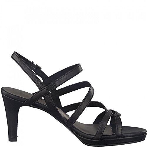 20 Sandals 28386 Tamaris Womens Schwarz 1 BaIvxwqE