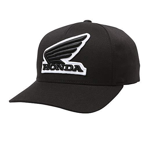 - Fox Racing Honda Flexfit Hat-Black-S/M