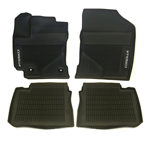 Genuine Toyota All-Weather Floor Liner Set PT908-02170-02 Black 4 Piece Set. 2017 COROLLA ONLY!