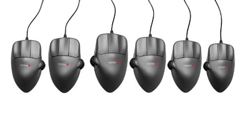 Contour Mouse  Large Size  Right Handed  Ergonomic Wired Usb Mouse  1200Dpi  5 Buttons