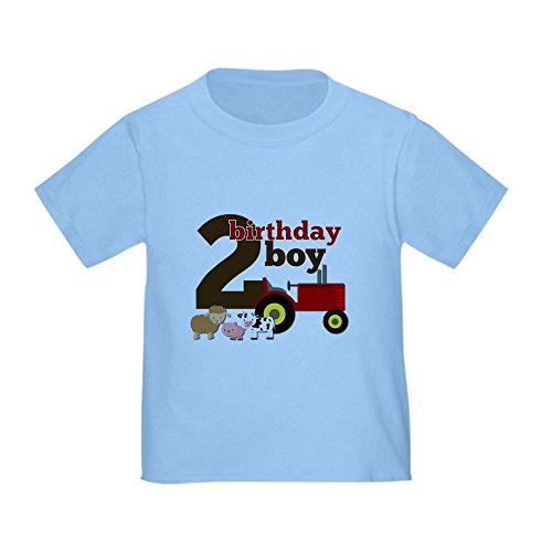 CafePress Tractor Birthday Toddler T Shirt