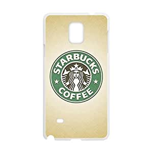 Starbucks design fashion cell phone case for samsung galaxy note4