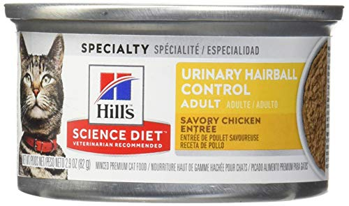 Hill's Science Diet Wet Cat Food, Adult, Urinary & Hairball...