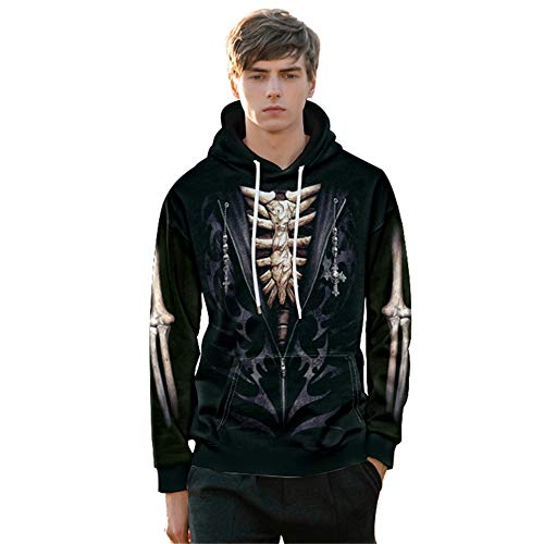 Dress Up 77 Net (Funny Graphic Hoodie, Polyester Pullover, Street Snap Cool Sweatshirts, Halloween Dress-Up (M))
