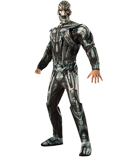 Bad Adult Costume - Marvel Rubie's Costume Co Men's Avengers 2 Age Of Ultron Deluxe Adult Ultron Costume, Multi, Standard
