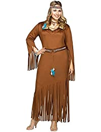 Women's Plus Size Indian Summer Costume