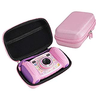 Hard EVA Carrying Case for VTech Kidizoom Camera Pix by Hermitshell (Pink) -Not Fit VTech Kidizoom Duo
