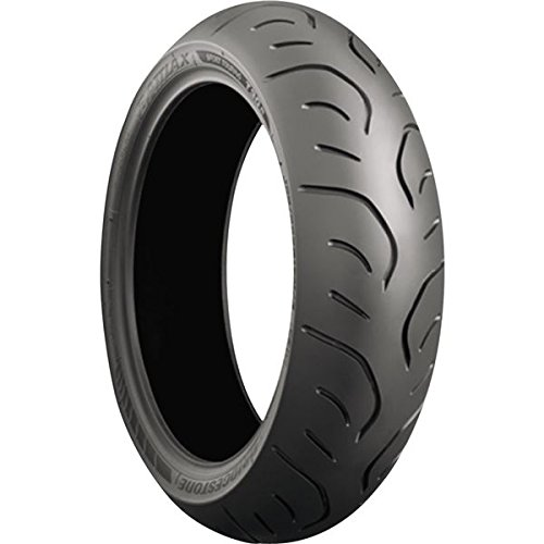 Bridgestone Battlax Sport Touring T30 Tire - Rear - 190/ 55ZR-17 , Position: Rear, Rim Size: 17, Tire Application: Touring, Tire Size: 190/55-17, Tire Type: Street, Load Rating: 75, Speed Rating: (W), Tire Construction: Radial 001319 by Bridgestone