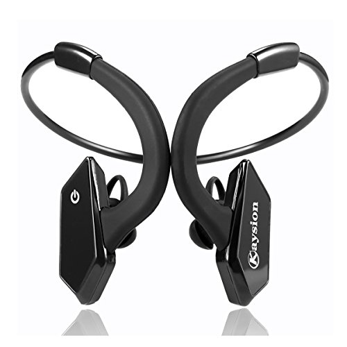 waterproof ip66 sweatproof outdoors sports wireless headsets kaysion bluetooth v 4 1 earbuds. Black Bedroom Furniture Sets. Home Design Ideas
