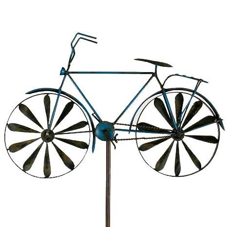 Carillon Vélo Métal éolienne bicylce Blue, jardin ...