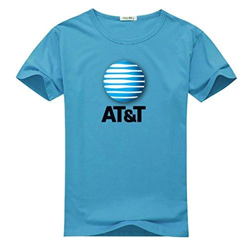 (Att-Logo for Men Printed Short Sleeve Tee T-shirt)