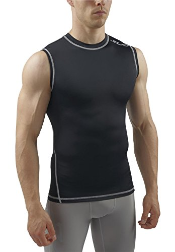 Mens+Tank+Tops Products : Sub Sports Mens Sleeveless Compression Top Base Layer Crew Neck Tank Top Vest