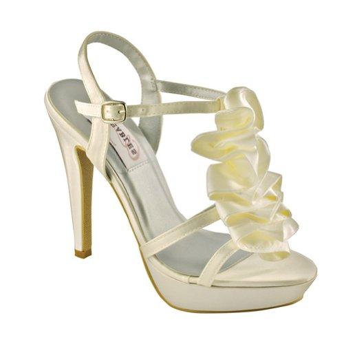 Dyeables Womens Ivy Ankle-Strap Sandal YF4nK0pIj9