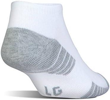 Under Armour UA HeatGear Tech No Show Socks 3- Pack M