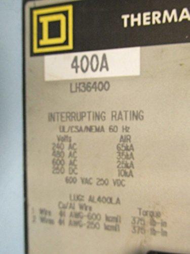 600V 400A 3 Pole Molded Case Circuit Breaker,
