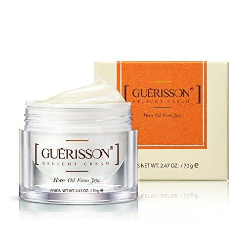(GUERISSON Moisture Balancing Cream 70g/Horse Oil & Ceramide Moisturizing Cream (Delight Cream 70g))
