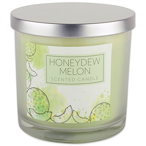 Melon Scented Jar Candle - Home Traditions 3-Wick Evenly Burning Highly Scented 4x4