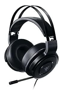 Thresher TE: 50mm Audio Drivers - Lightweight, Leatherette Ear Cushions - Unidirectional Boom Mic - Multi-Platform Compatibility - Black