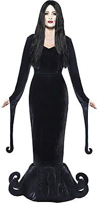 Disfraz para Señora de Morticia de la Familia Addams, Disfraz ...