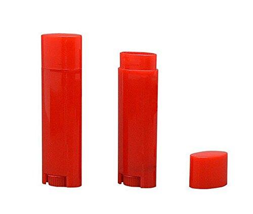 4.5g 0.15oz Empty Refillable Plastic DIY Lipstick Lip Bal...