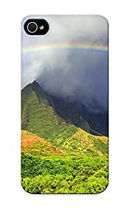 New Style Storydnrmue Hard Case Cover For Iphone 5/5s- Kalalau Valley Rainbow