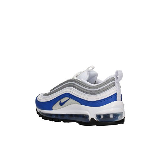 Schuhe Damen Retro Nike Air Max 97 White / GAME ROYAL-NEUTRAL GREY