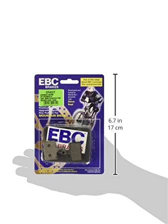 BCE Ebc Shimano Deore Hydraulic 525 Plaquette de frein /à disque hydraulique