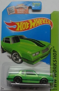Hot Wheels Kmart Exclusive HW Workshop '86 Monte Carlo SS Green #230/250