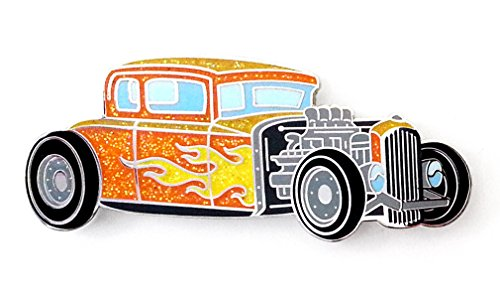 Pinsanity Hot Rod Lapel Pin (Hot Rod Pin)