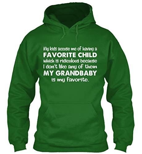 My Kids Accuse me. M - Irish Green Sweatshirt - Gildan 8oz Heavy Blend Hoodie ()