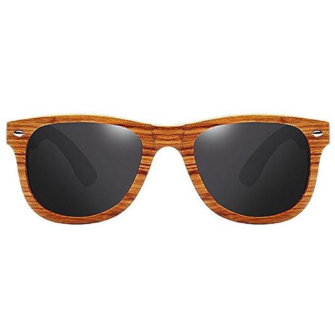 Tone Accessori Fx Gloss Effetto colore Lens Da Sole E Two Xf Gray Uv400 Pattern Frame Grain Mirrored Occhiali Wood